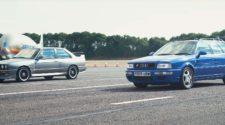 Для любителей 1990-х. Кто быстрее - «бочка» или Е30? Видео