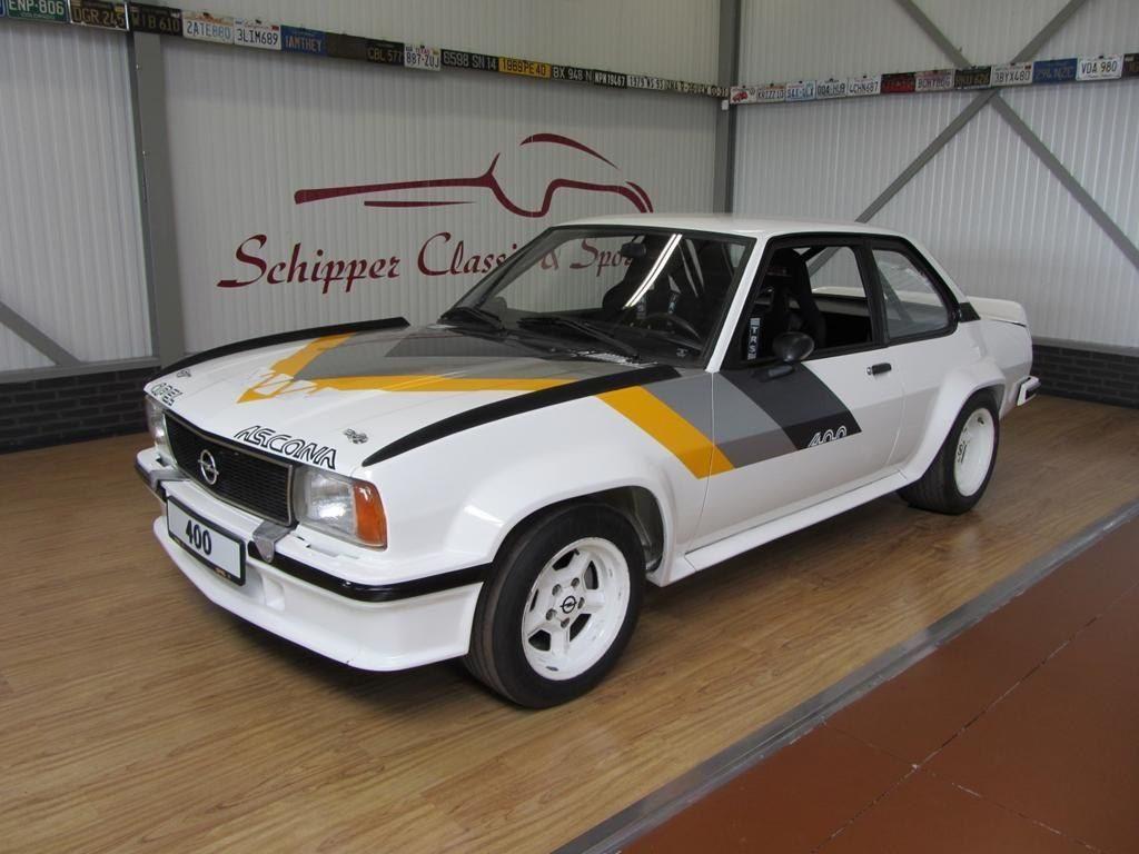 Эталон европейского автомобильного дизайна 70-х - Opel Ascona 400
