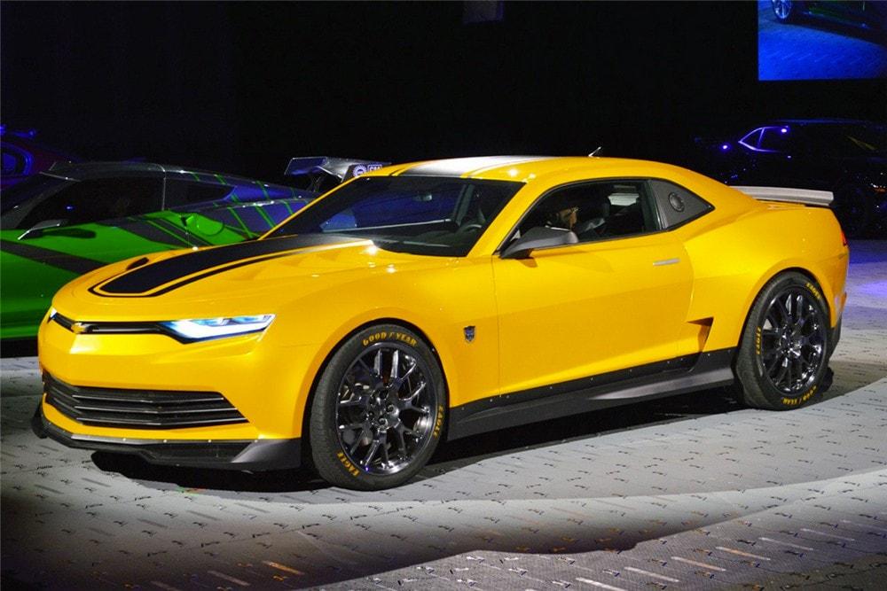 GM продаст все четыре Camaro, снимавшиеся в «Трансформерах» 3