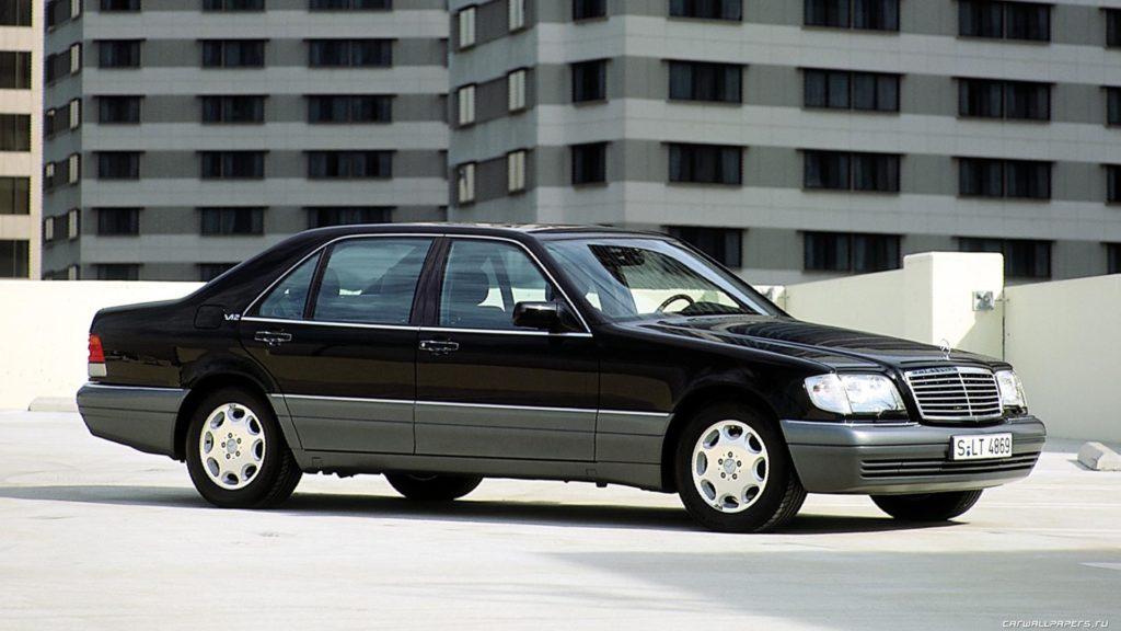 Герой своего времени- Mercedes W140