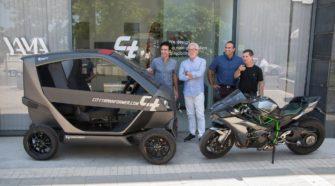 Израильский стартап создал трансформирующийся электрокар