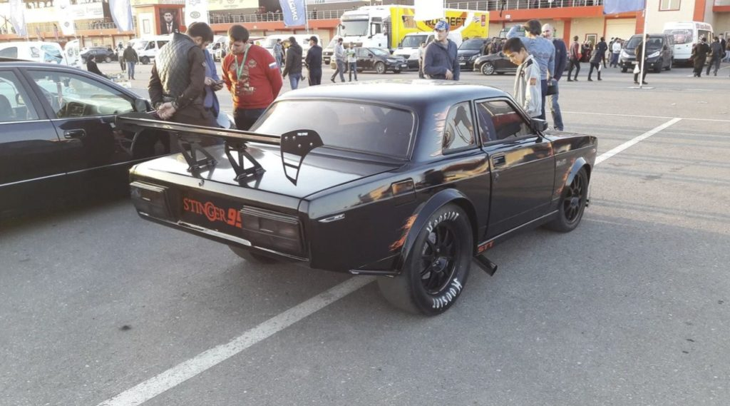 Кто-то сделал драгстер из ВАЗ-2107 - Stinger Sport