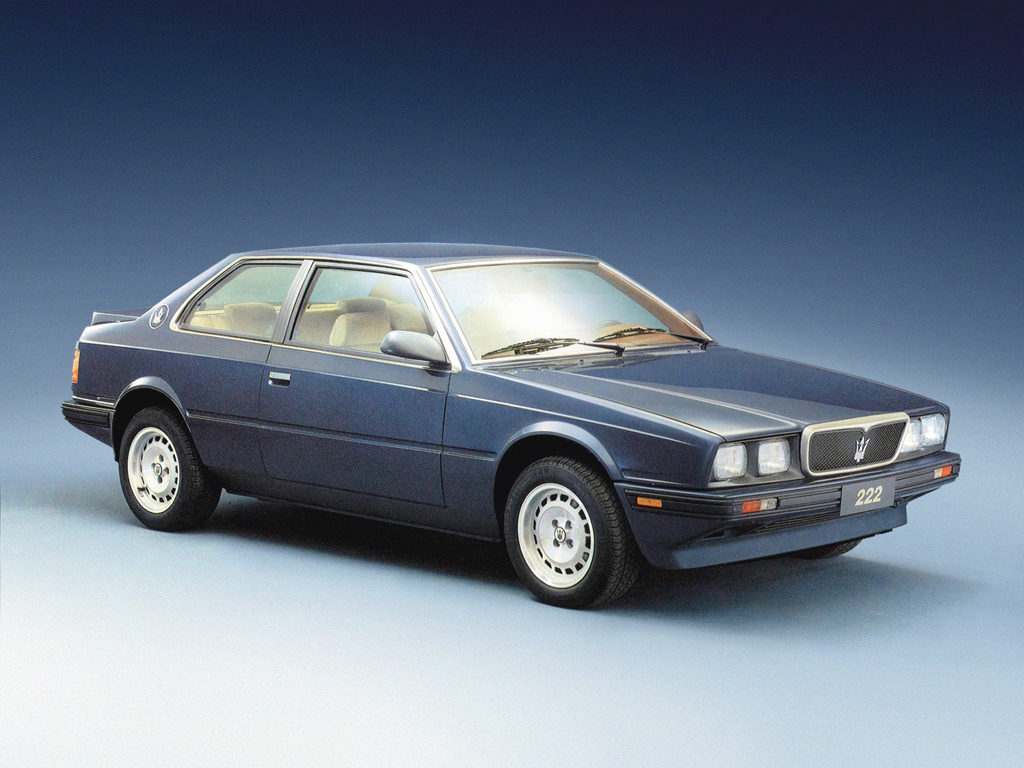 Мазерати из 80-х - Maserati 222 Biturbo