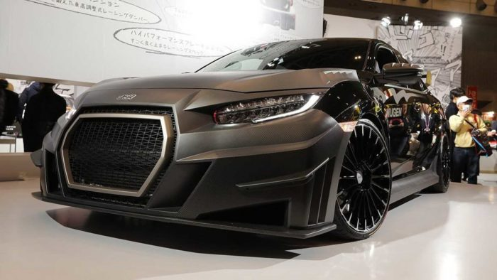 Mugen показал новый комплект обвесов для Honda Civic Type R