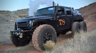 На продажу выставлен единственный в мире паровой Jeep Wrangler