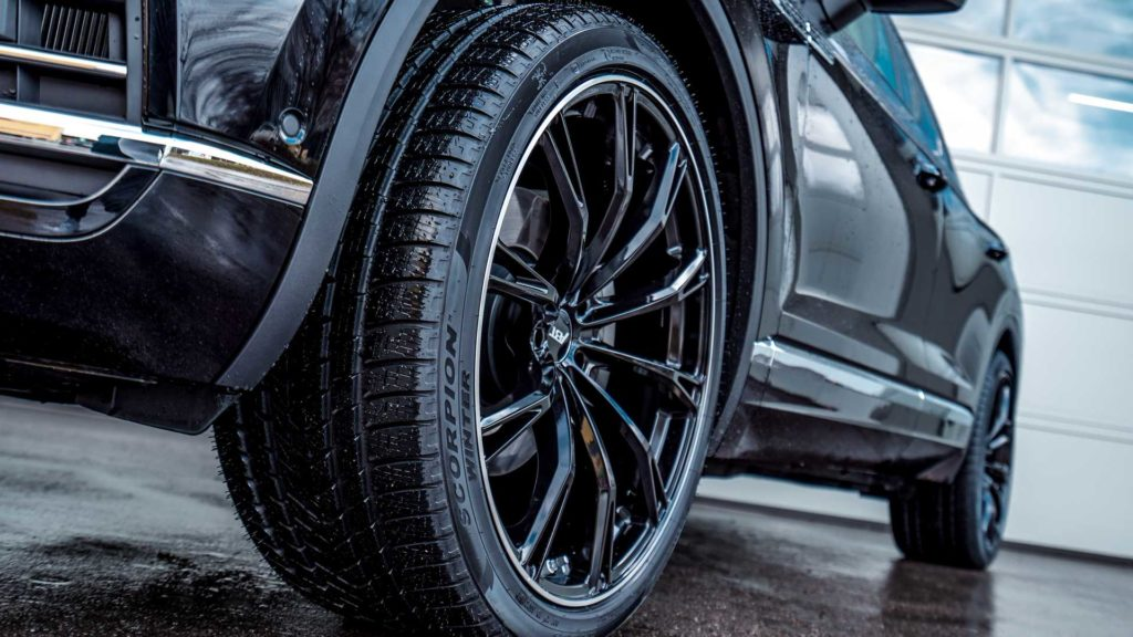 Новый VW Touareg от тюнера ABT увеличивает мощность и размер колес
