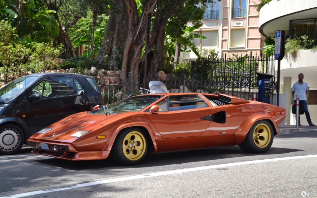 Образец для подражания - Lamborghini Countach S