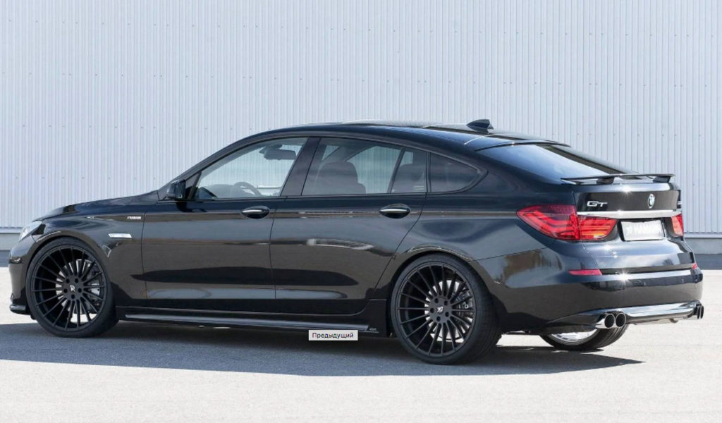 Практичный BMW 535i GT или как Hamann прокачала BMW