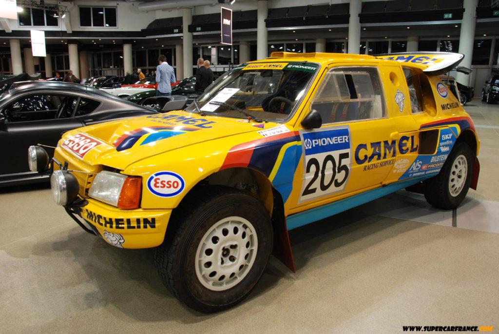 Раллийный монстр группы «Б» - Peugeot 205 T16