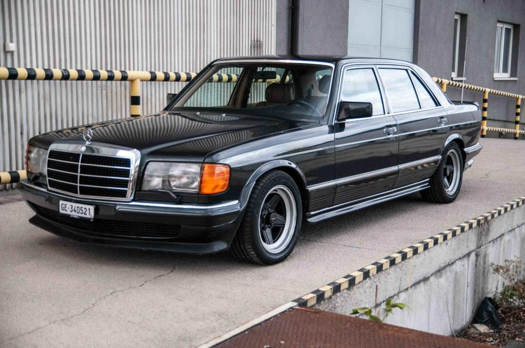 Спокойная роскошь и хороший вкус - Mercedes 500SEL
