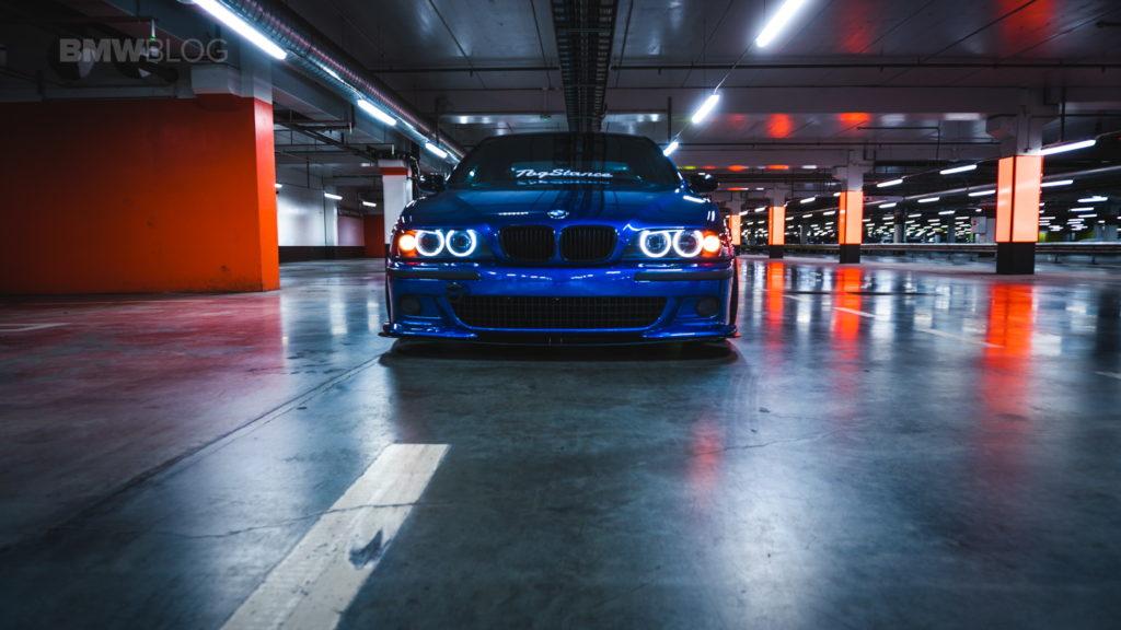 Обзор на автомобиль BMW Е39 М5 - Stanced BMW M5 E39
