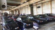 В Болгарии нашли склад с новыми BMW 5-Series 90-х годов