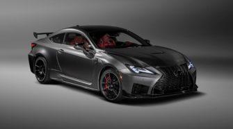 В Детройте Lexus представил новую модельRC F Track Edition