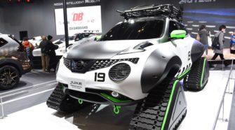 В Токио состоялась премьера гусеничного Nissan Juke personalization adventure concept