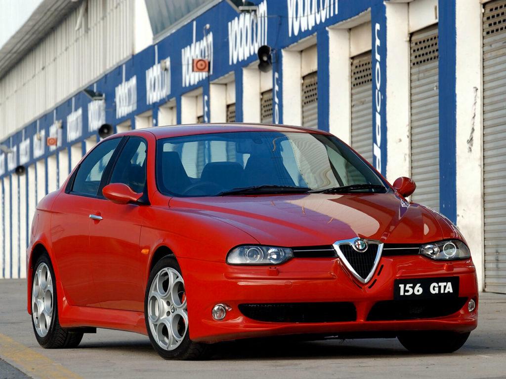 Вальтер де Сильва сотворил истинный шедевр - Alfa Romeo 156 2