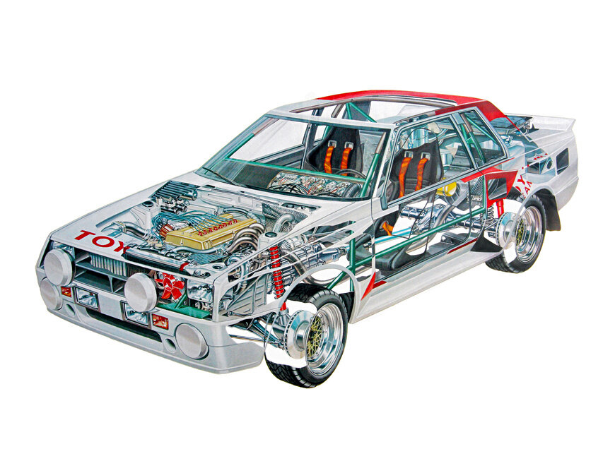 Загадка Короля Африки - Toyota Celica TCT (Group B)