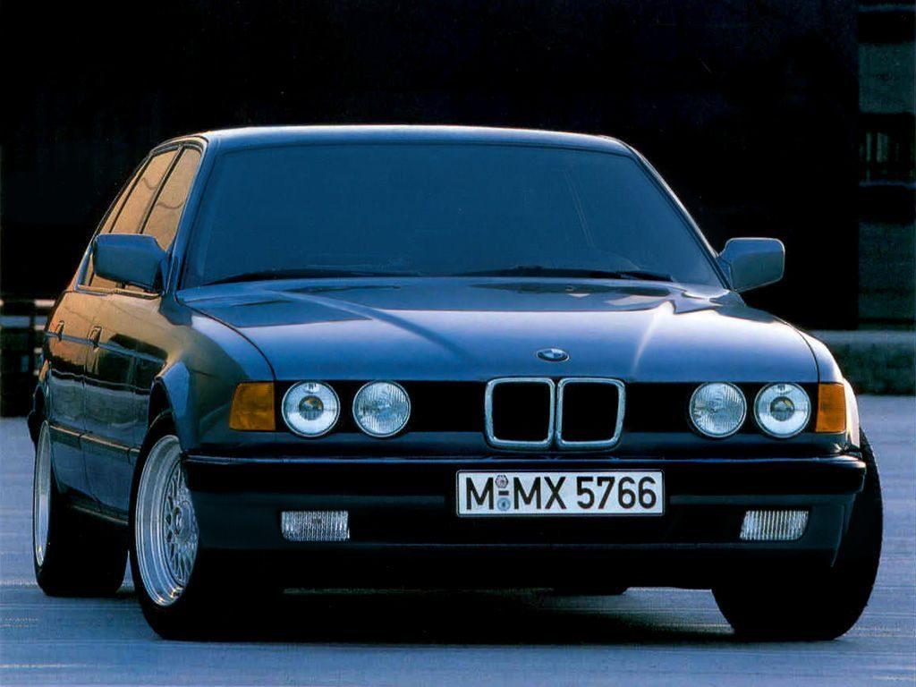 Акулий стиль - BMW 735i + Секретный V16 Goldfish...