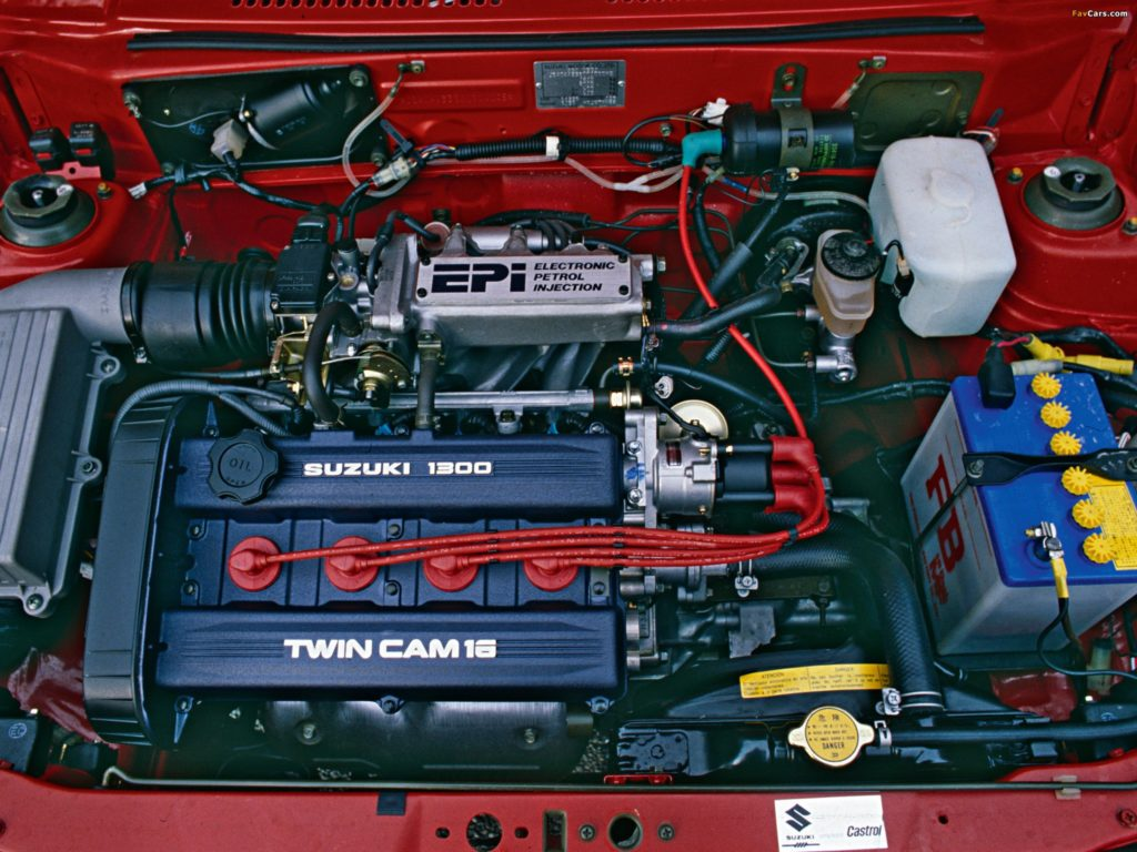 Маленький моторчик с турбиной - Suzuki Swift GTi
