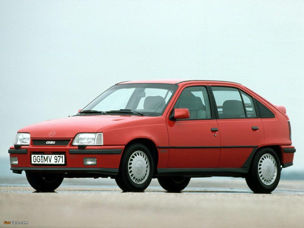 Такой ГСи способен утереть нос многим современным машинам - Opel Kadett GS-i