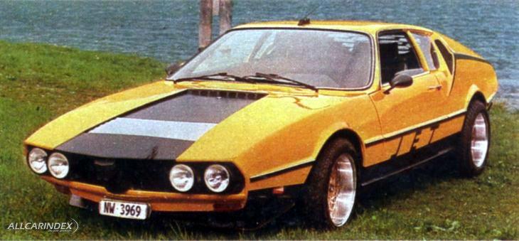 Эпатажный автомобиль с неуклюжим силуэтом - Albar Sonic