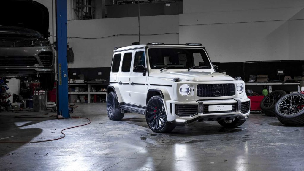 Тюнеры из Urban Automotive прокачали Mercedes-AMG G63