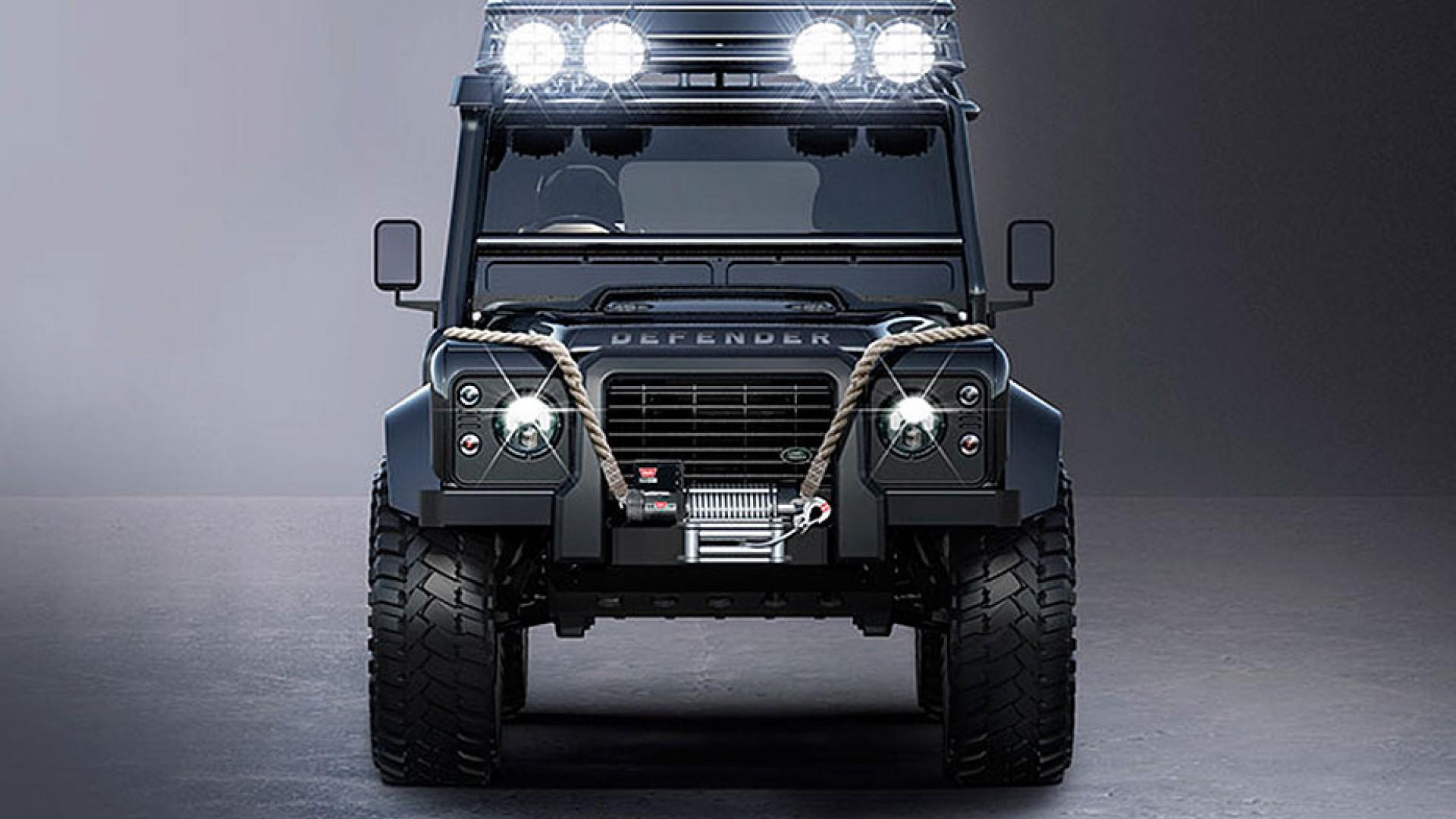 Из Land Rover Defender сделали авто, как у агента 007