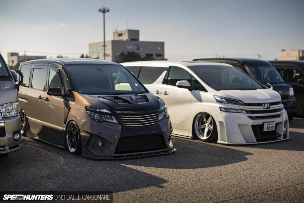 JDM-тюнинг - настоящий Токийский автосалон проходит на парковке