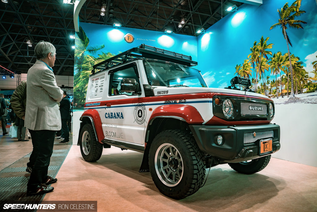 Тюнинг Suzuki Jimny завоевывает Токио