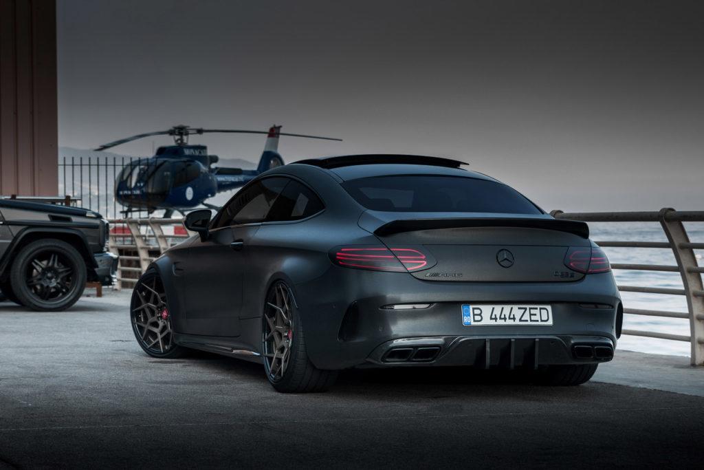 Z-Performance показывает новый пакет доработок для горячей версии Mercedes-AMG C-класса Coupe