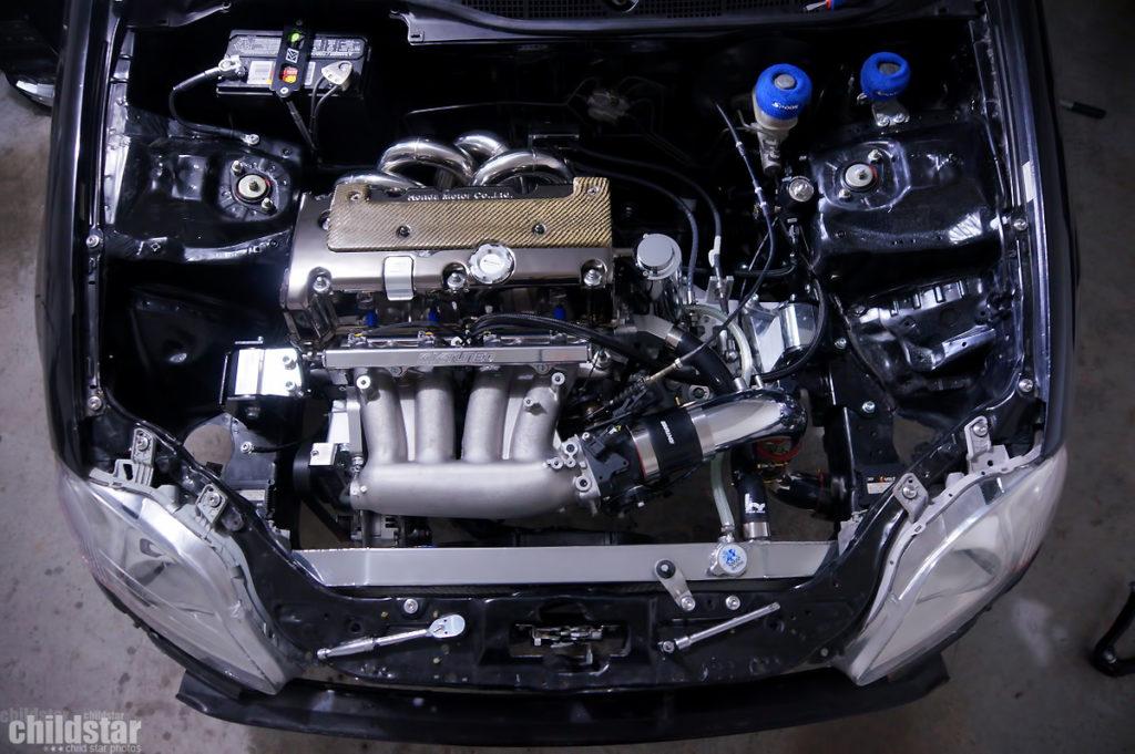 Свап двигателя