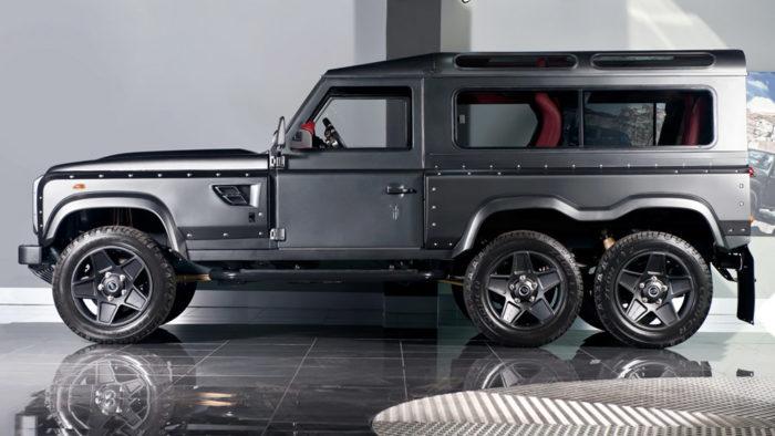 Land Rover Defender тюнинг