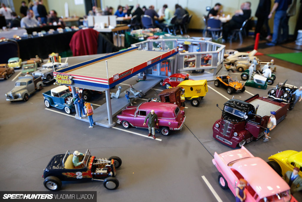 Автосалон масштабных моделей во Франкфурте