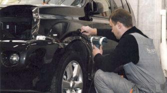 Бронирование автомобилей прозрачной пленкой