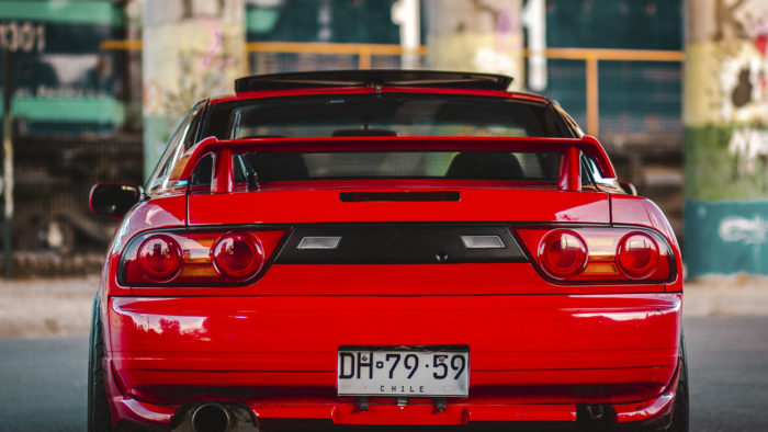 Дрифт-снаряд 90-х - Nissan 200SX