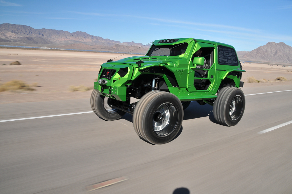 Jeep wrangler 2007 от cambered customs