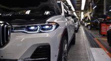 Как собирают BMW X7 - видео