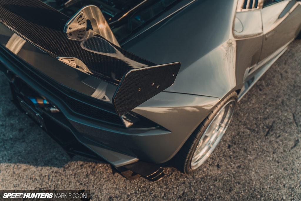 Lamborghini Huracan: Би-Турбо, широкофюзеляжный боди-кит, и колёсные диски BBS LM Alus 8