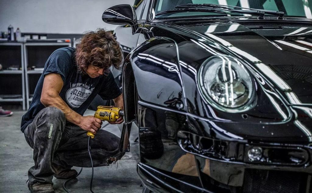 Порезать классический Порше и сделать шедевр - Porsche RWB