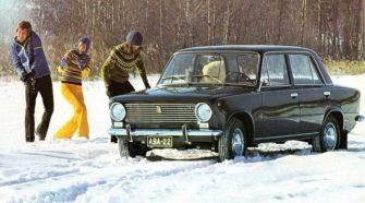 Реклама Жигулей 1970 года в Финляндии - ретровидео
