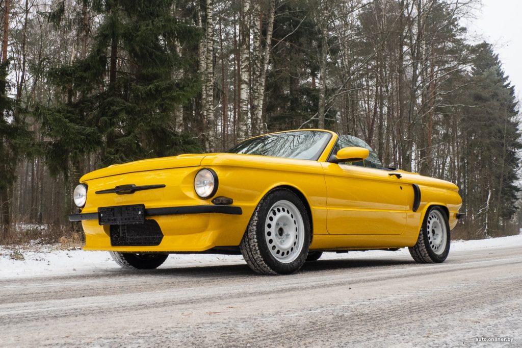 Самый крутой «Запорожец», построенный на базе Porsche