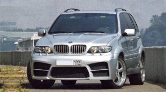Выкрашенная, наполированная и готовая к новой жизни BMW X5