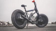 Bmx с мотором от питбайка