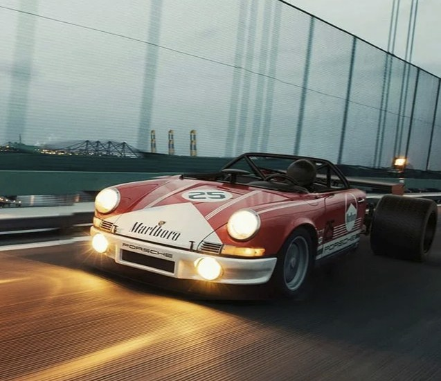 Американцы создают экстремальный концепт - Porsche 911 тюнинг