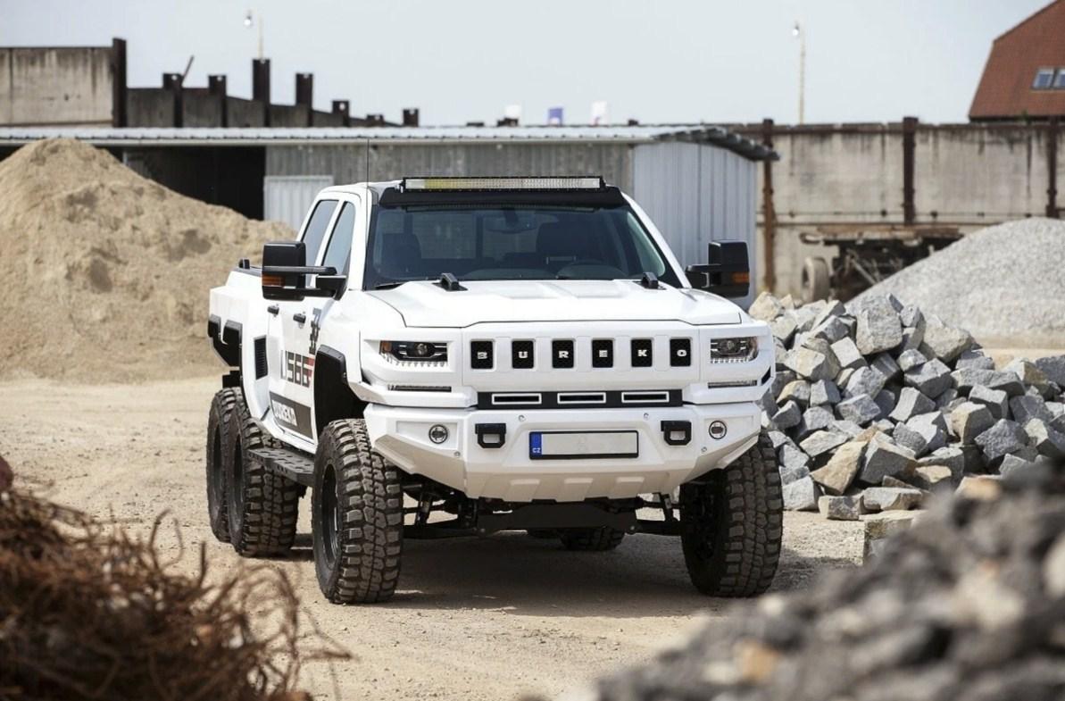 Чехи превратили Chevrolet Silverado в монстра мощностью 1200 лошадиных сил