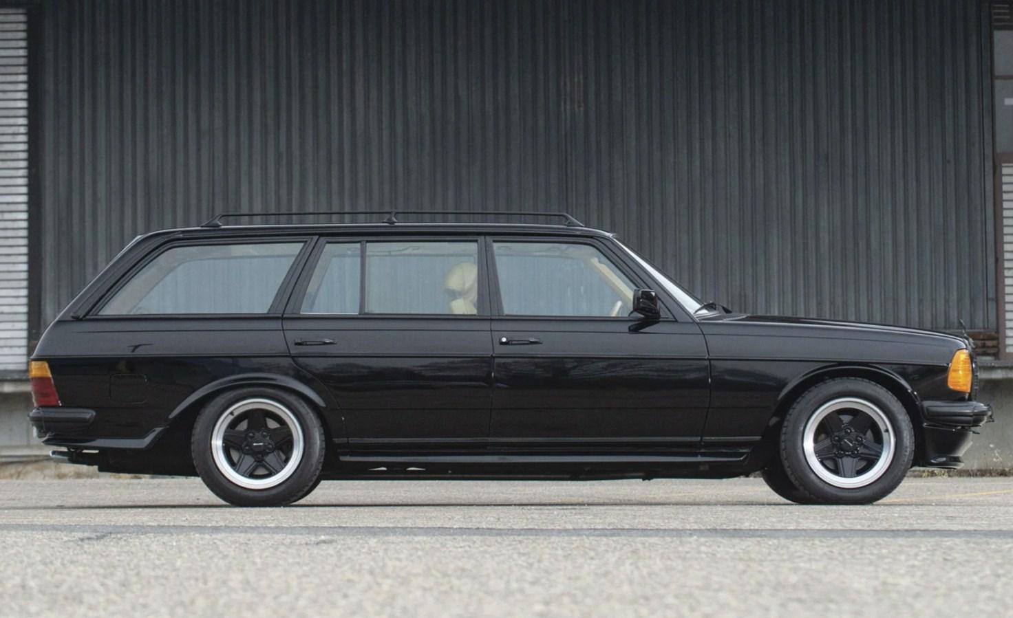 Mercedes-AMG Wagon 1979 - Идеальный слипер