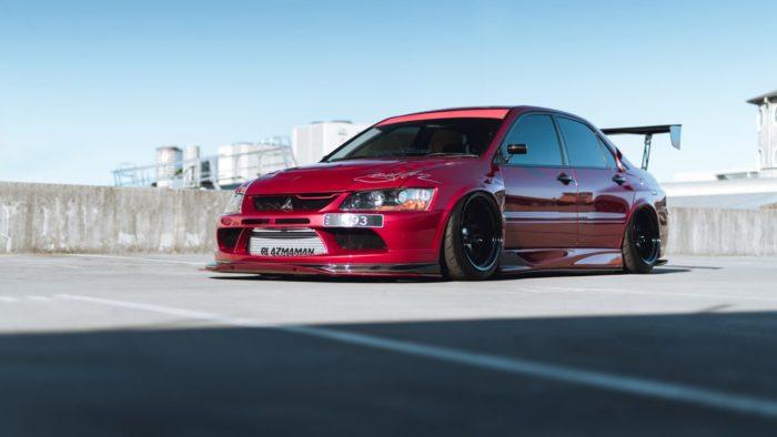 Классика жанра - проект Mitsubishi EVO (2)