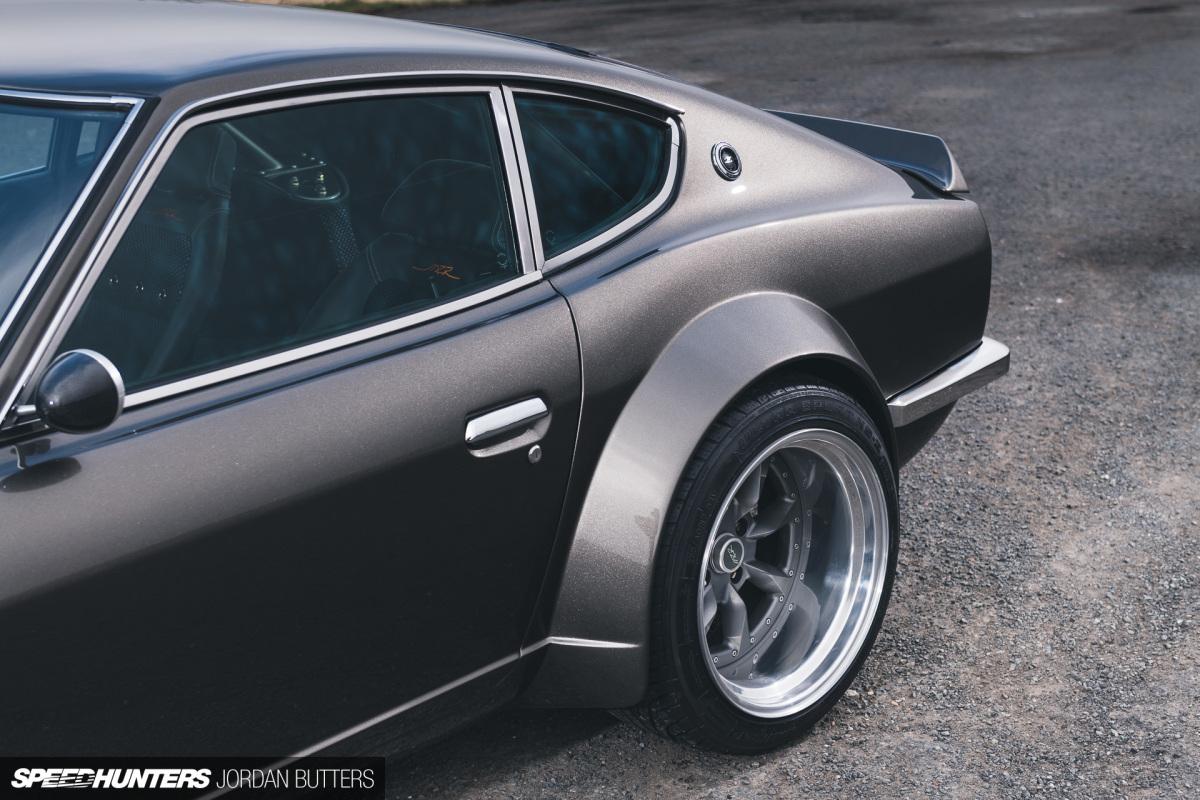 Олимпийский атлет от компании «MZR Roadsports» - Datsun 240Z 1972 года