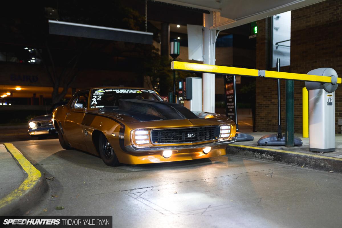 Уличный, атмосферный, 6-ти секундный «Camaro» 1969 года