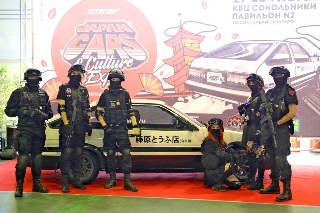 «Japan Cars & Culture Expo 2019» - уникальные японские автомобил
